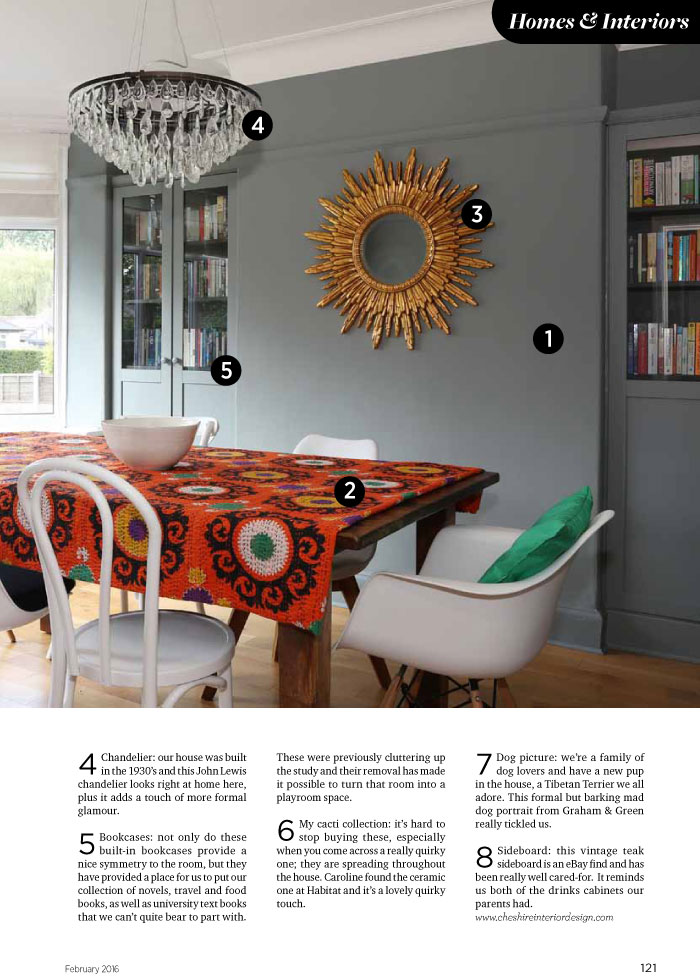 homes interior design cheshire life